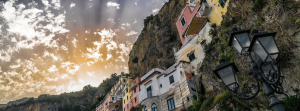 Sunset in Amalfi, Campania Italy